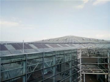 西藏玻璃连栋温室